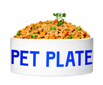 A bowl of Pet Plate